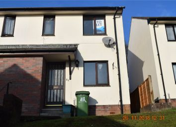 Thumbnail 2 bed semi-detached house to rent in Holwill Drive, Torrington