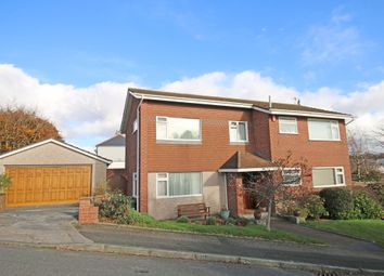 Thumbnail 4 bed detached house for sale in Pilgrim Close, Milehouse, Plymouth.