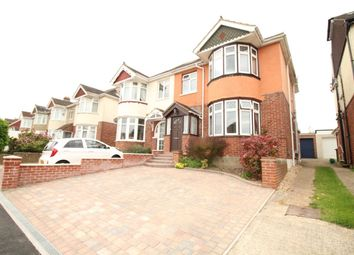 Thumbnail 4 bed semi-detached house for sale in The Hillway, Portchester, Fareham