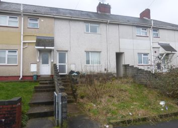 Thumbnail 2 bedroom terraced house for sale in Emlyn Road, Mayhill, Swansea