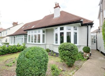 Thumbnail 3 bedroom semi-detached bungalow for sale in Chalkwell Park Drive, Leigh-On-Sea