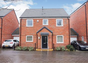 Thumbnail 4 bed detached house for sale in Mendips Close, Willenhall