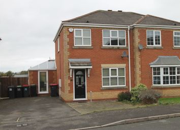 Thumbnail 3 bed semi-detached house to rent in Foxwood Road, Birchmoor, Tamworth