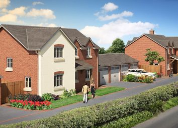 Thumbnail 4 bed detached house for sale in Plot 5 Chelwood View, Crew Green, Shrewsbury