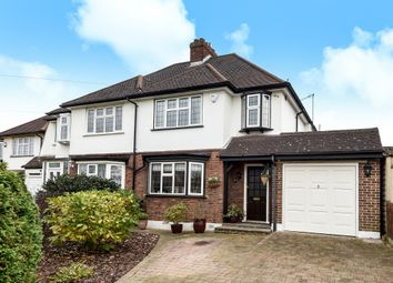 Thumbnail 3 bed semi-detached house for sale in Thorndon Gardens, Ewell, Epsom