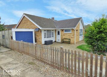 Thumbnail 2 bed detached bungalow for sale in St Edmund Road, Weeting, Brandon, Norfolk