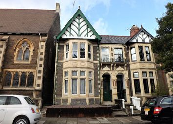 Thumbnail 4 bed terraced house for sale in Morlais Street, Cardiff