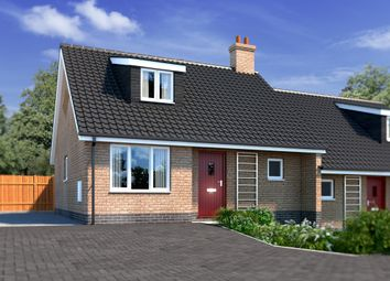Thumbnail 2 bedroom semi-detached house for sale in Plot 1 Kells Way, Geldeston, Beccles
