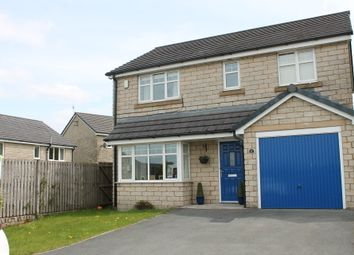 Thumbnail 4 bed detached house for sale in Woodlark Close, Bacup