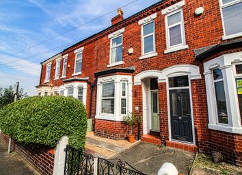 Thumbnail 2 bed terraced house for sale in Meadows Road, Sale