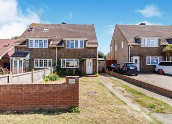 Thumbnail 3 bed semi-detached house for sale in Woodland Avenue, Hartley, Longfield, Kent