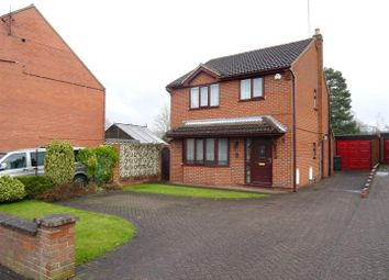 Thumbnail 3 bed detached house for sale in Main Street, Swannington, Leicestershire