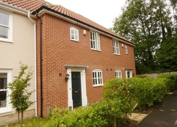 Thumbnail 3 bedroom terraced house to rent in Ryefield Road, Mulbarton, Norwich