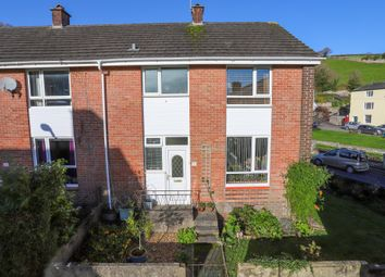 Thumbnail 3 bed end terrace house for sale in Ashburn Close, Ashburton, Newton Abbot
