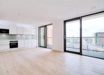 Thumbnail 2 bed flat to rent in Heritage Tower, 118 East Ferry Road, London