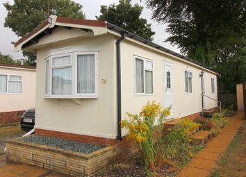 Thumbnail 2 bed mobile/park home to rent in Valdean Home Park, Alresford, Hampshire