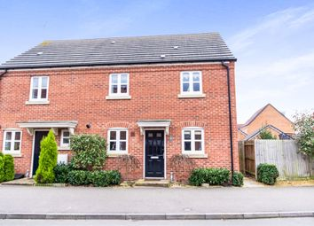 Thumbnail 3 bed semi-detached house for sale in Jackson Way, Stamford