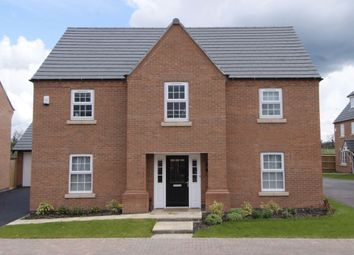 """Thumbnail 4 bed detached house for sale in """"Winstone"""" at Wright Close, Whetstone, Leicester"""