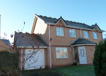 Thumbnail 3 bed semi-detached house for sale in Larch Drive, Stanwix, Carlisle