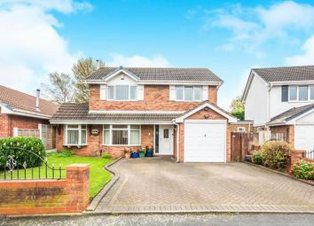 Thumbnail 4 bed detached house for sale in Wooding Crescent, Burberry Grange, Tipton