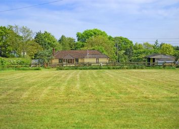 Thumbnail 4 bed detached bungalow for sale in Wootton Road, Tiptoe, Tiptoe, Lymington