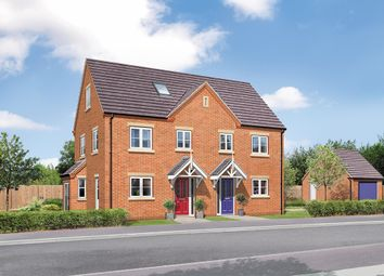 Thumbnail 3 bed semi-detached house for sale in The Willow, Greendale Gardens, Hucknall, Nottinghamshire