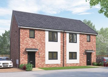 "Thumbnail 3 bedroom semi-detached house for sale in ""The Newbridge"" at Vigo Lane, Chester Le Street"