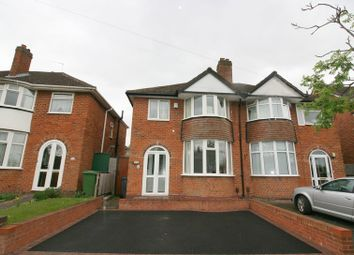 Thumbnail 3 bed semi-detached house to rent in Geoffrey Road, Shirley, Solihull