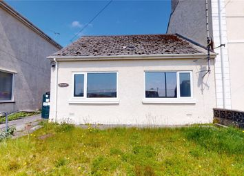 Thumbnail 2 bed terraced bungalow for sale in St Georges Road, Nanpean, St Austell, Cornwall