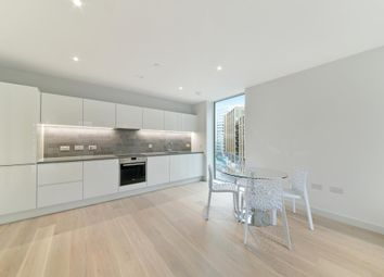 Thumbnail 1 bed flat to rent in Flagship House, Royal Wharf, London