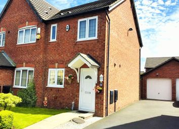 Thumbnail 2 bed semi-detached house for sale in Metcalf Close, Kirkby, Liverpool