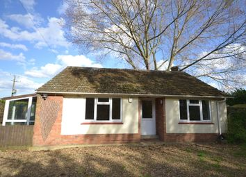 Thumbnail 2 bedroom detached bungalow to rent in Ely Road, Chittering, Cambridge