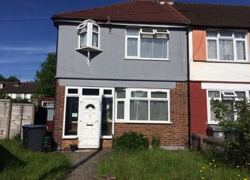Thumbnail 3 bed end terrace house to rent in Craigmuir Park, Wembley