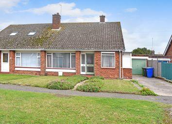 Thumbnail Semi-detached bungalow for sale in Dukes Drive, Halesworth