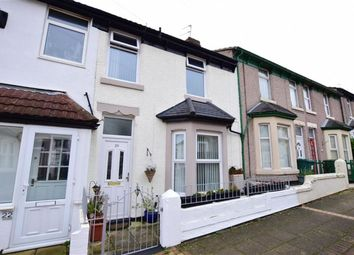 Thumbnail 2 bed terraced house for sale in Belmont Road, Wallasey, Merseyside