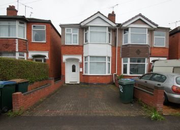 Thumbnail 3 bed semi-detached house to rent in Treherne Road, Coventry