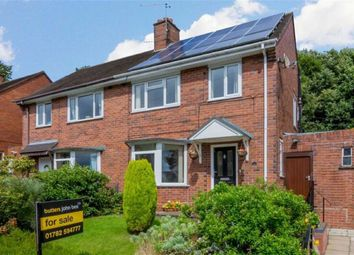 Thumbnail 3 bedroom semi-detached house for sale in St Marys Road, Adderley Green, Stoke-On-Trent