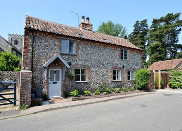Thumbnail 3 bed detached house for sale in Bagthorpe Road, East Rudham, King's Lynn