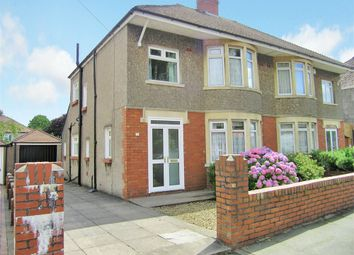 Thumbnail 3 bed semi-detached house to rent in St Anthony Road, Heath, Cardiff