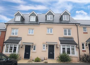 Thumbnail 4 bed terraced house for sale in Sentrys Orchard, Exminster, Exeter