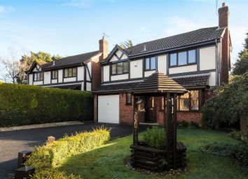 Thumbnail 4 bed detached house for sale in Isaacs Close, Poole