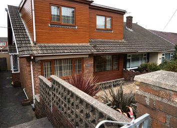 Thumbnail 3 bed semi-detached bungalow for sale in Evans Street, Kenfig Hill, Bridgend