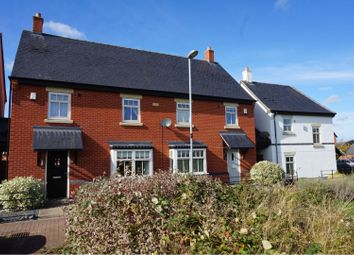 Thumbnail 3 bed semi-detached house for sale in Merttens Drive, Rothley