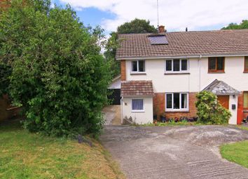Thumbnail 3 bed semi-detached house for sale in Hillfield, South Zeal, Okehampton