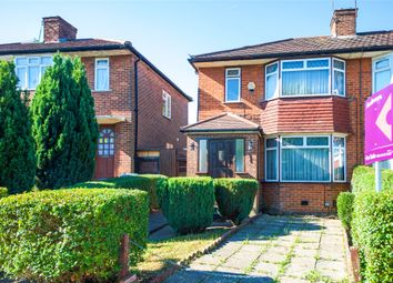 Thumbnail 3 bed semi-detached house for sale in Honeypot Lane, Stanmore, Middlesex
