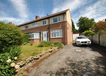Thumbnail 3 bed semi-detached house for sale in Wynford Avenue, Cookridge, West Yorkshire