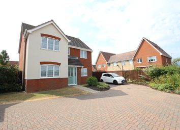 Thumbnail 4 bed detached house for sale in Mill Road, Mile End, Colchester, Essex
