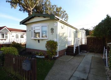 Thumbnail 1 bed mobile/park home for sale in St Hermans Road, Hayling Island, Hampshire