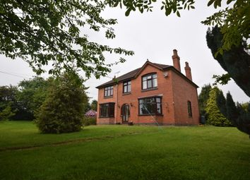 Thumbnail 4 bed detached house to rent in Hillside Road, Linton, Swadlincote