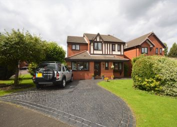 Thumbnail 4 bed detached house for sale in Tynedale Close, Stockport